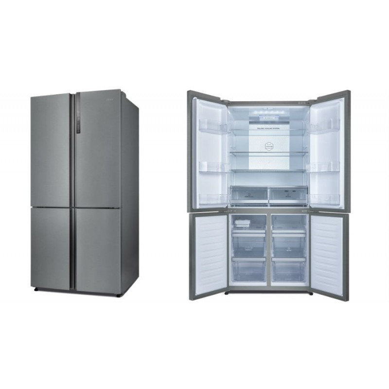 frigo us americain haier 610l a grande capacit. Black Bedroom Furniture Sets. Home Design Ideas