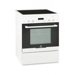 Cuisinière Electrolux vitrocéramique EKC66700OW