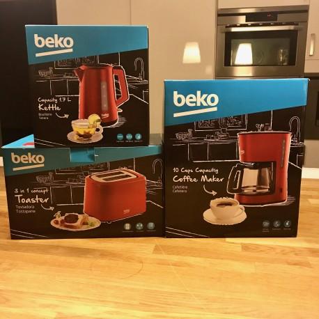 Set petit déjeuner Beko inox