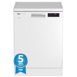 Lave-vaisselle Beko + 5 ans de garantie DFN 28422 W