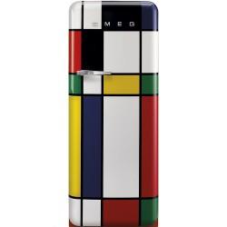 Frigo rétro Smeg Multicolor - FAB28RDMC3