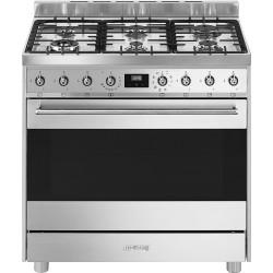 Cuisinière gaz|électrique SMEG C9GMX9-1