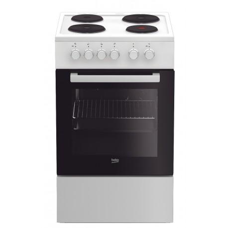 Cuisinière électrique Beko FSS 56000 GW